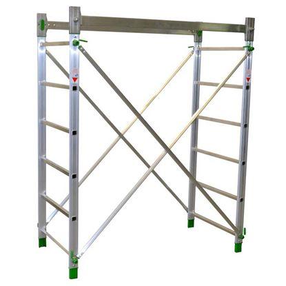 Immagine di Alzata Facal, in alluminio per Alumito, 1,80 mt