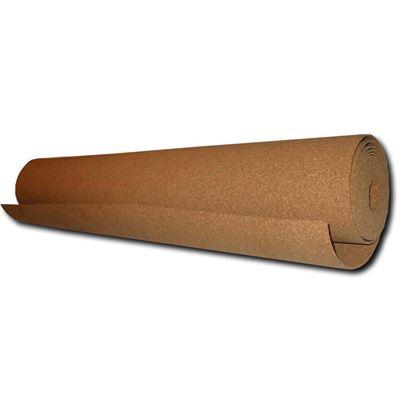 Immagine di Isolante Isosughero, termo-acustico, in agglomerato di sughero naturale, rotolo m 10xh100 cm, spessore 2 mm