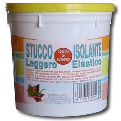 Immagine di Stucco leggero Palomar, per rasatura sughero, barattolo 500 ml