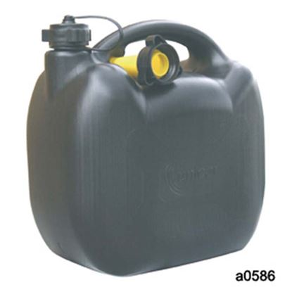 Immagine di Tanica benzina, in plastica, omologata, 10 lt