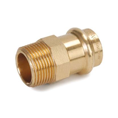 "Immagine di Nipple b-press gas Banninger, M 3/4""x Ø 22 mm"