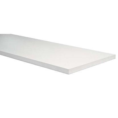 Immagine di Mensola stondata, colore bianco, 18x200x600 mm