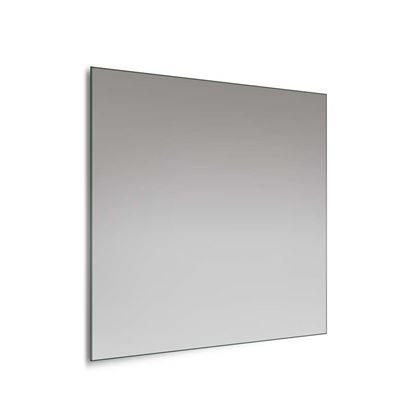 Immagine di Specchio Home, 60x60 cm, filo lucido, con telaio e possibilità di applicazione lampade abbinabili