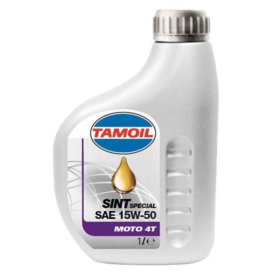 Immagine di Olio Tamoil, Sint 4T, lubrificante semisintetico, per motori a 4 tempi, 1 lt