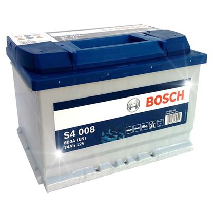 Immagine di Batteria auto Bosch, S4-52 Ah, spunto 470 A, polarità dx