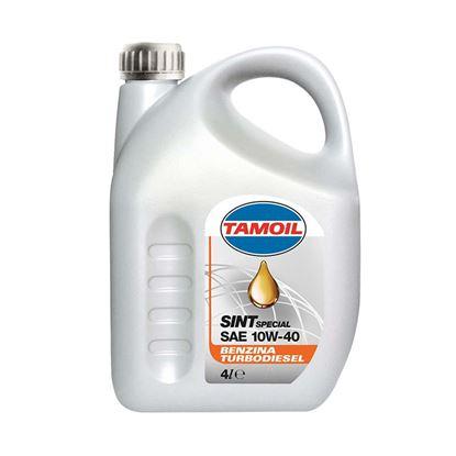 Immagine di Olio Tamoil, Sint, SAE 10W-40, lubrificante semisintetico, per motori a benzina e turbodiesel, 1 lt