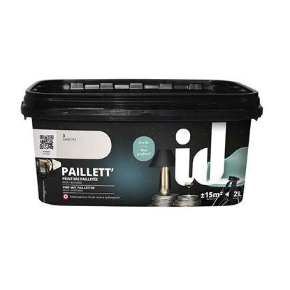 Immagine di Pittura decorativa Paillett, con effetto paillettes, resa 15 m², 2 lt, studio