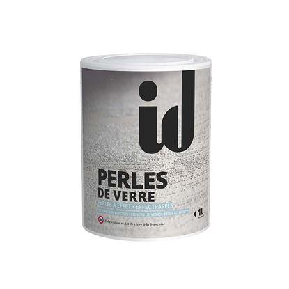Immagine di Additivo Perle de Verre, per effetto sabbiato, metallizzato, esprit, chic e pitture colorate, 1 lt