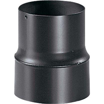 Immagine di Riduzione, per stufa a pellet, colore nero, F/M Ø 100/80 mm