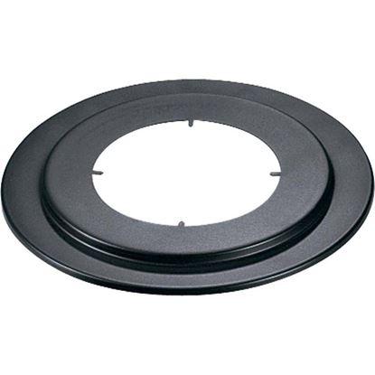 Immagine di Rosone, per stufa a legna, Ø 150 mm, colore nero