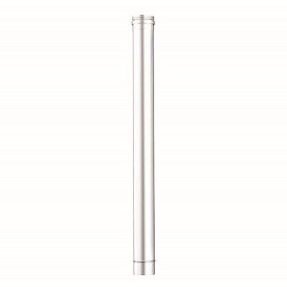 Immagine di Tubo acciaio inox, monoparete, AISI 316 L, Ø180 100 cm
