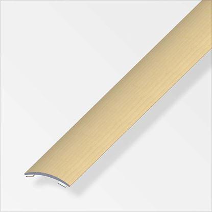Immagine di Profilo per raccordo, 1,0 mt, 30x5 mm, titanio