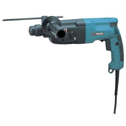 Immagine di Tassellatore Makita 780 W, HR2470, scalpellatore, mandrino SDS-Plus, potenza colpo 2,3 J, colpi min.0-4500, peso 2,4 kg