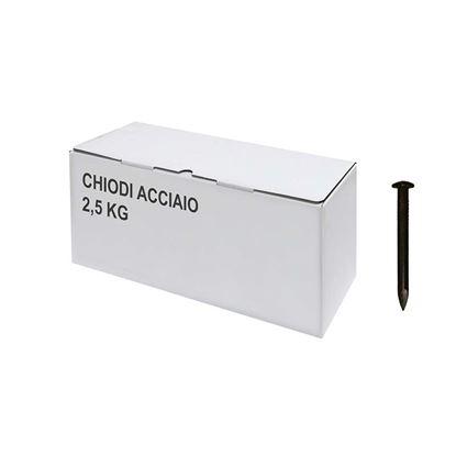 Immagine di Chiodi acciaio, 2,5 kg, 3,7x60 mm