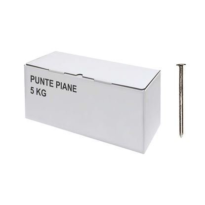Immagine di Punte piane, 5 kg, 18x80 mm