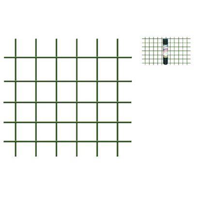 Immagine di Rete plastificata verde, maglia 13x13 mm, rotolo cm 50x5 mt