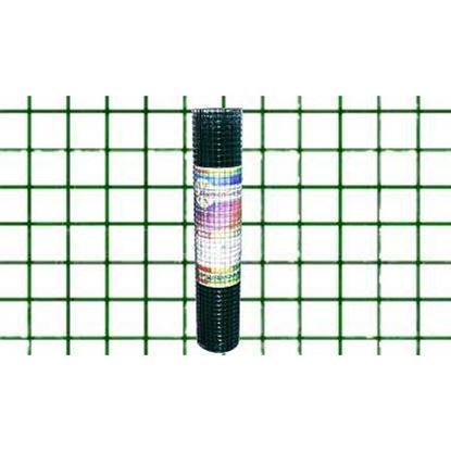 Immagine di Rete plastificata verde, maglia 13x13 mm, rotolo cm 50x10 mt