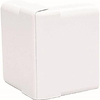 Immagine di Angolo esterno variabile, colore bianco, 70x20 mm