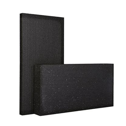Immagine di Lastre in Blackpor, termoisolante con grafite, sinterizzato, a celle chiuse, autoestinguente classe E 1000x500x40 mm
