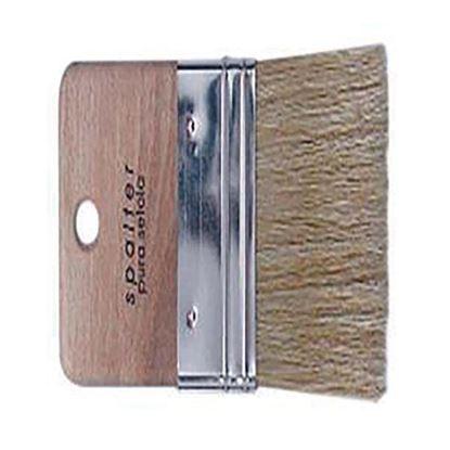 Immagine di Spalter, manico legno,  effetto pennellata, setola, 150 mm