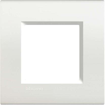 Immagine di Placca 3 posti, Living Int&Light, grigio ghiaccio