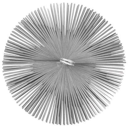 Immagine di Scovolo acciaio, tondo, Ø 200 mm