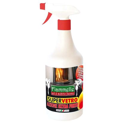 Immagine di Spray specifico per vetri di camini e stufe 750 ml