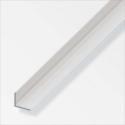 Immagine di Angolare clampline,  alluminio argento, 2,00 mt,  10/13