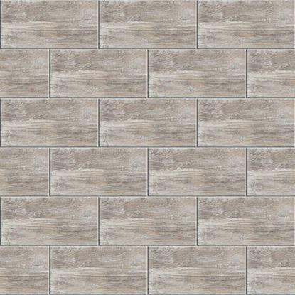 Immagine di Rivestimento  Tundra 26x52 cm, bicottura, confezione 2,18 m², colore antracite