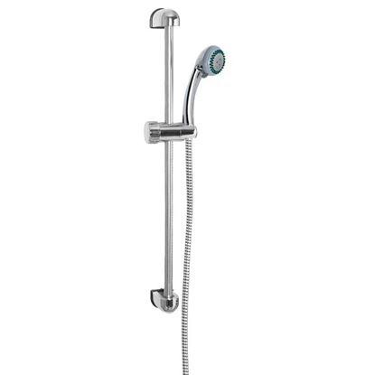 Immagine di Saliscendi San Paolo, con doccia 3 funzioni, cromo