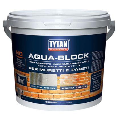 Immagine di Aqua-Block Tytan muretti e pareti sistema pulizia protezione contro l'acqua resiste a UV invisibile non altera i colori
