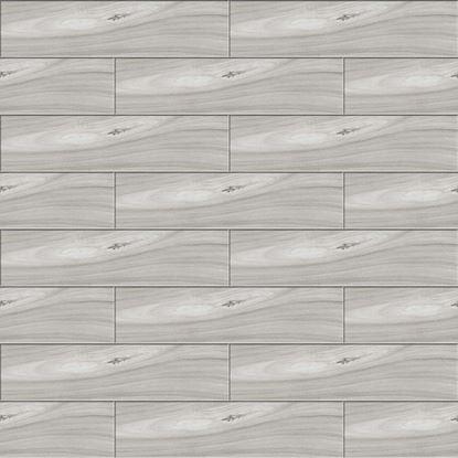 Immagine di Pavimento Elegance 15,6x60,4 cm, gres porcellanato, spessore 8 mm, confezione da 1,36 m², colore grey