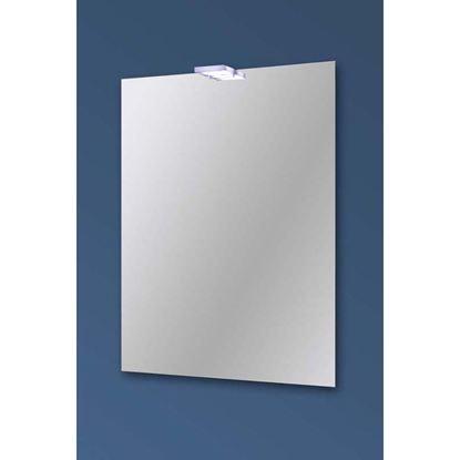 Immagine di Specchio Cloud 50x70 cm, con lampada led, 4 W, IP44, reversibile