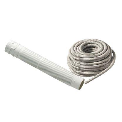 Immagine di Tubo flessibile scarico fumi, corrugato in PP Ø 80