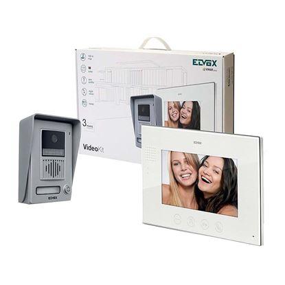 """Immagine di Kit videocitofono K40901 supplementare Elvox, 7"""" colori, vivavoce"""