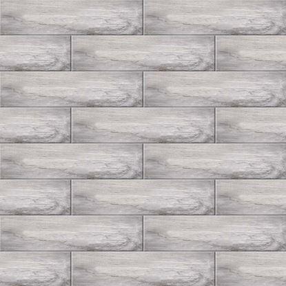 Immagine di Pavimento Water Sign 15,6x60,6 cm, gres porcellanato, confezione da 1,36 m², colore grey