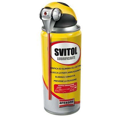 Immagine di Svitol sbloccante, lubrifica, elimina gli attriti, previene la ruggine e protegge tutte le superfici metalliche, 250 ml