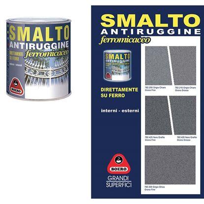 Immagine di Smalto antiruggine, 2,500 lt, colore grigio ghisa