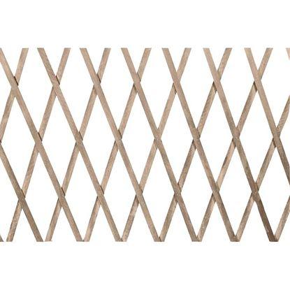 Immagine di Traliccio estensibile legno naturale, 100x200 cm