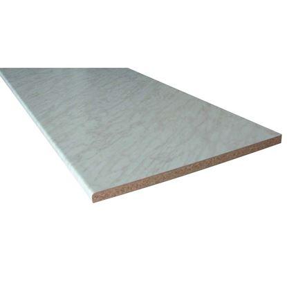 Immagine di Top Cucina, 205x60 cm, spessore 28 mm, marmo carrara