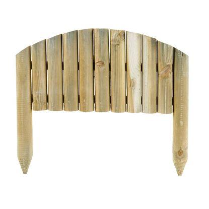 Immagine di Recinzione Procida, legno di conifera impregnato in autoclave, 30/40x55 cm